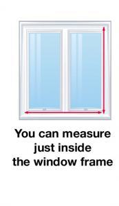 How to measure your windows for shutters