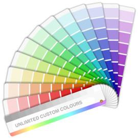 Custom colours available