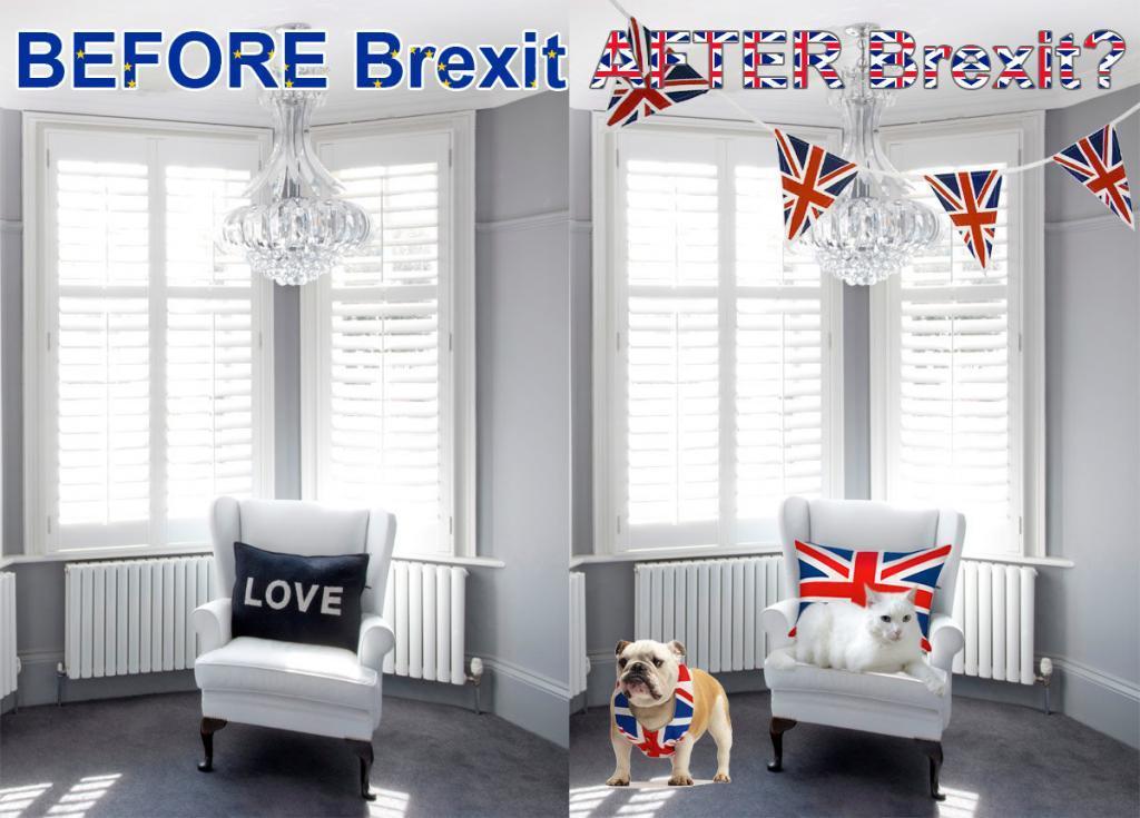 Brexit interior design