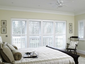 Bedroom shutters are versatile