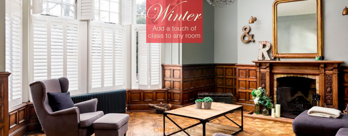 Add class to any room with interior shutters
